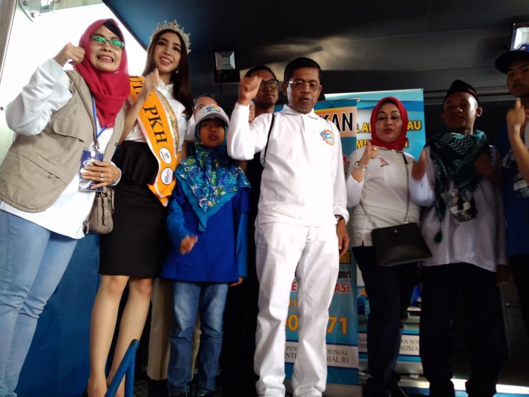 Menteri Sosial RI Buka Gebyar Prestasi Keluarga Sejahtera Indonesia