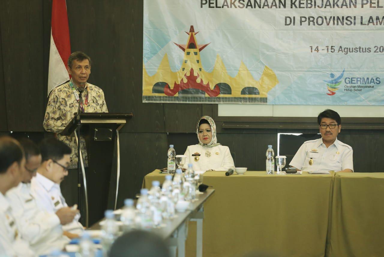 Pemprov Lampung Terus Berkomitmen Melaksanakan Pembangunan Di Bdang Kesehatan