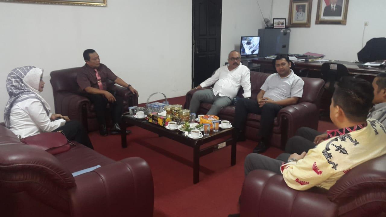 Tenaga Ahli Penanganan Fakir Miskin Kemensos RI Kunjungi Dinas Sosial Provinsi Lampung