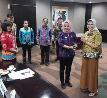 Bupati Winarti Pelajari Pengelolaan Sistem Kinerja Pemerintah Dalam Melayani dan Mensejahterakan Masyarakat