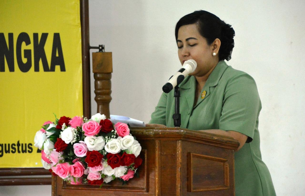 Dharma Pertiwi Korcab Lampung Daerah B Gelar Acara Sosialisasi Pemberdayaan Bina Keluarga Balita