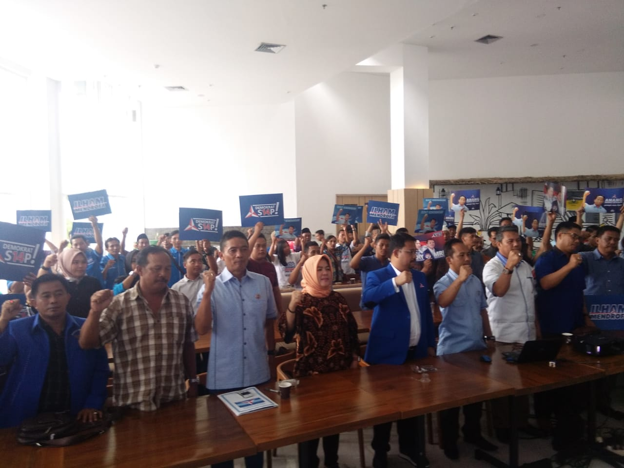 Demokrat Godok Bakal Calon Pendamping Wakil Bupati Lamteng Loekman Djoyosoemarto
