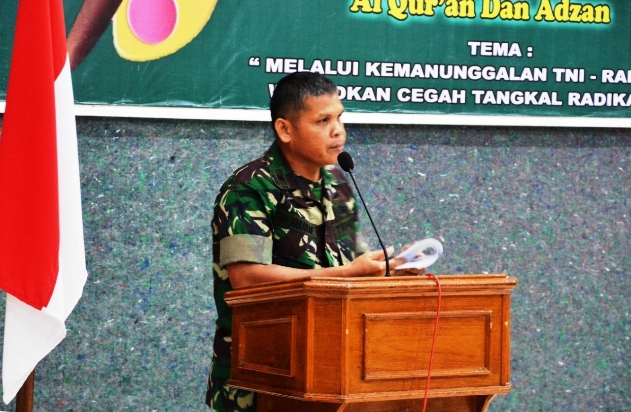 Manunggal TNI–Rakyat Korem 043/Gatam Gelar Komsos Kreatif
