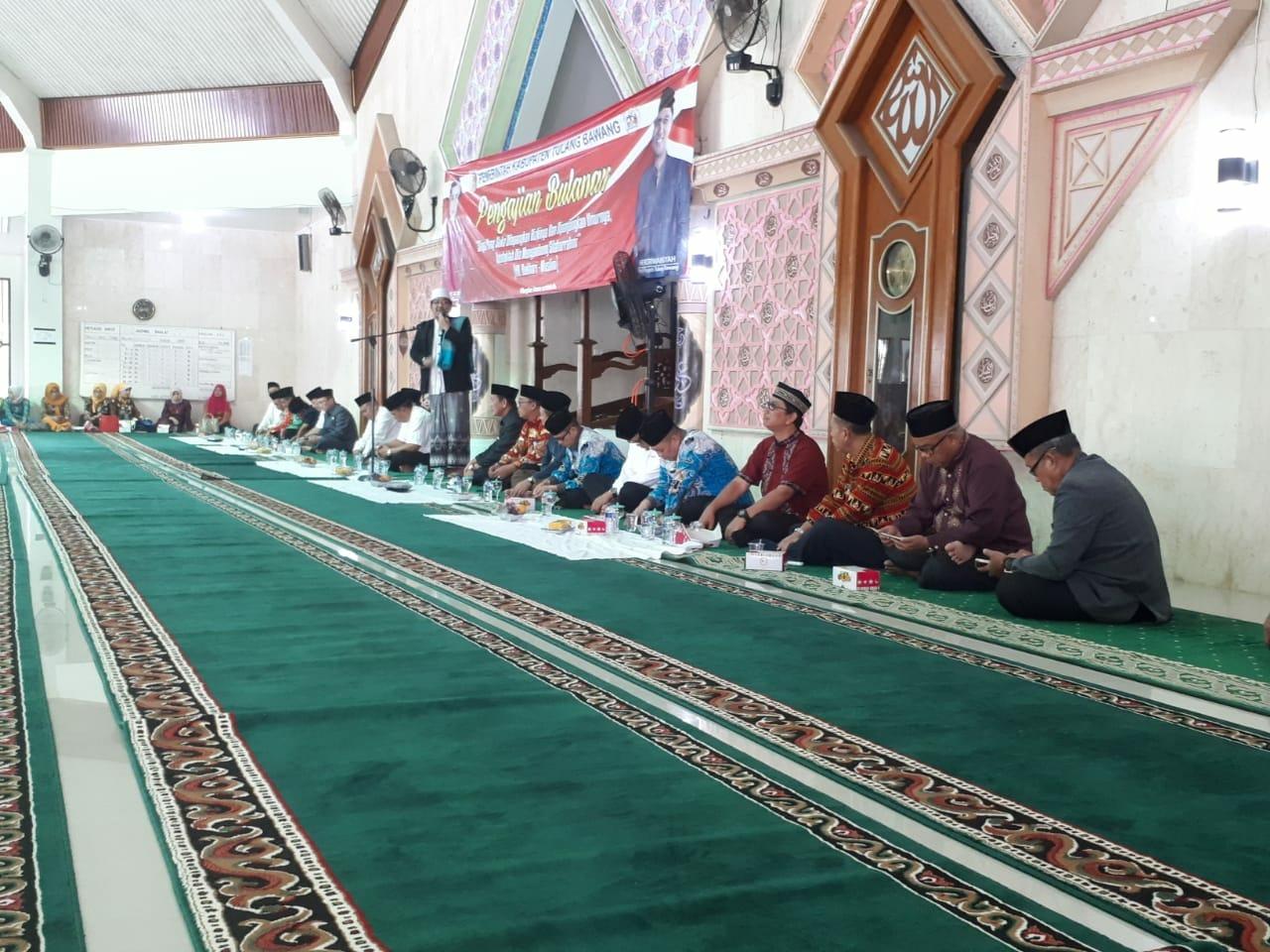 Pemkab Tulangbawang Gelar Pengajian Bulanan di Masjid Islamic Center Menggala