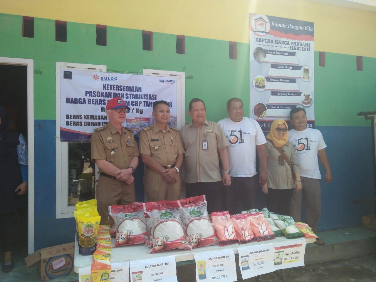 Bulog Divre Lampung Konsisten Lakukan Penetrasi Pasar
