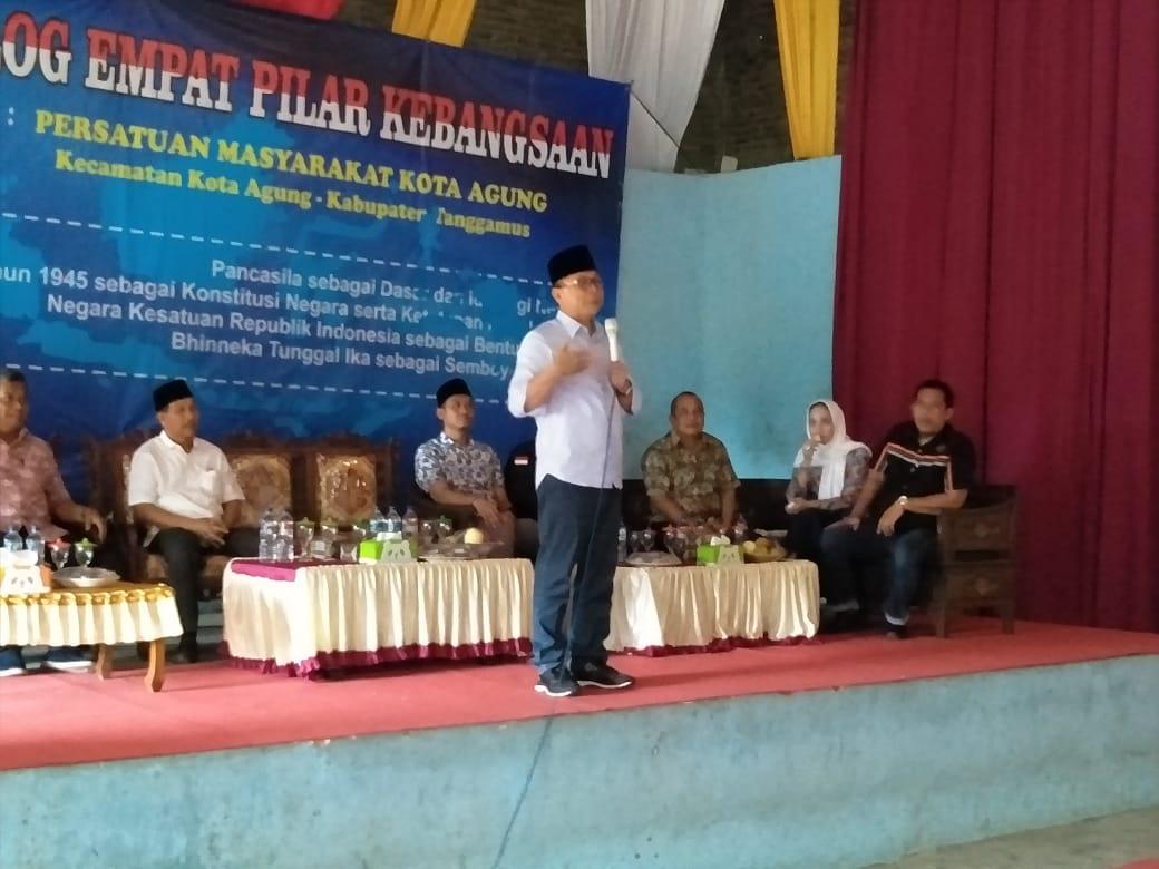Ketua MPR RI Gelar Dialog Empat Pilar Kebangsaan di Tanggamus