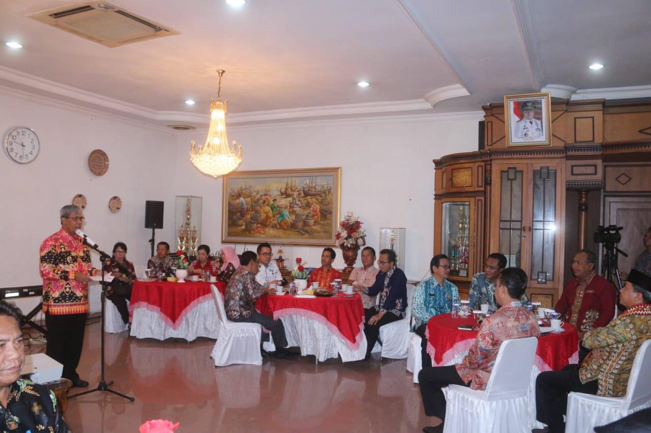 Belajar Masalah Peternakan dan Pertanian, WaliKota Palangkaraya Berguru ke Lampung Tengah