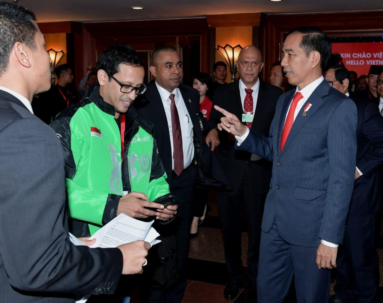 Presiden Jokowi Hadiri Peluncuran Go-Viet