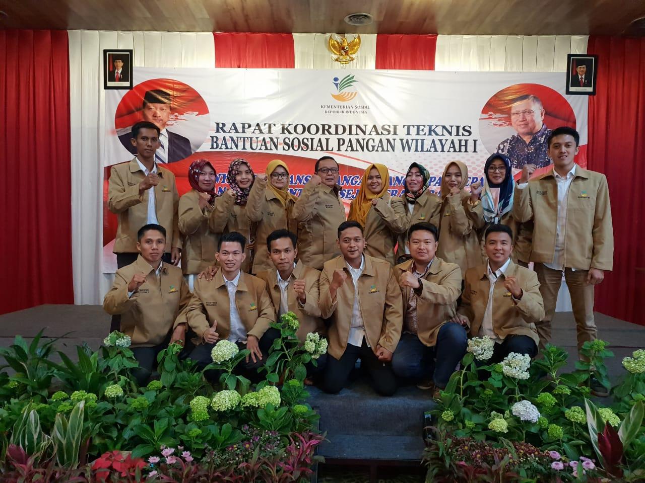 Kadinsos Provinsi Lampung, Sumarju Saeni Hadiri Rakor Bansos Pangan Rastra/BPNT