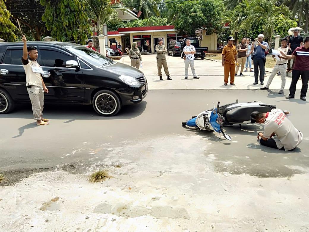 Kakam Haji Pemanggilan Minta Pihak Kepolisian Memproses Secara Hukum Pelaku Yang Terlibat Dalam Penganiayaan Dirinya