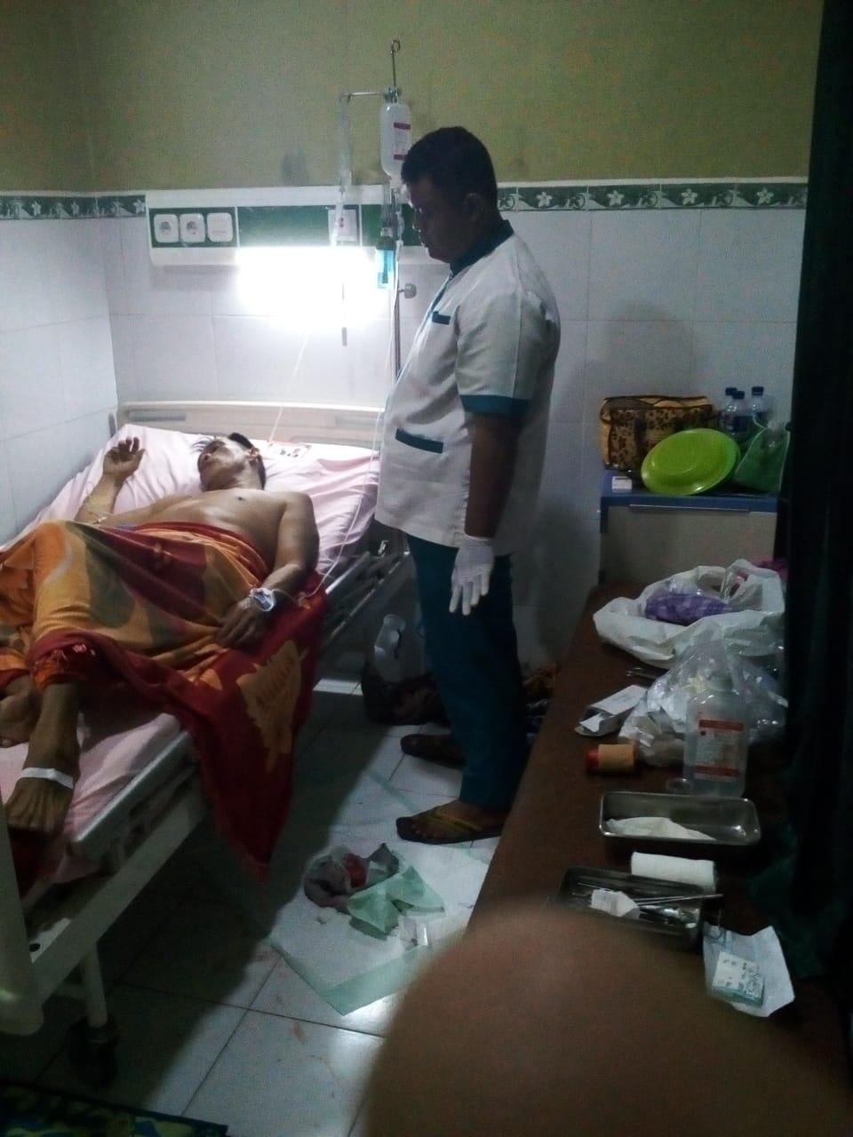 Syamsudin Korban Penganiayaan Kembali di Larikan ke Rumah Sakit
