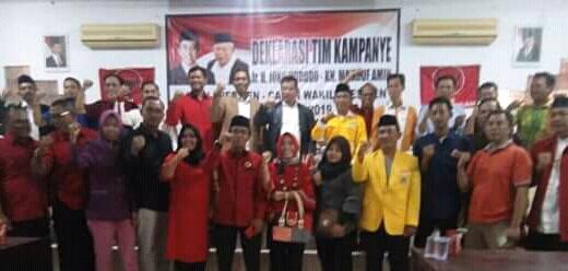 Ir. Kadek Swartika Pimpin Rapat Tim Pemenangan Jokowi-Ma'aruf Pada Pilpres 2019