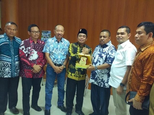 Pelajari Sistem E-planning dan E-budgeting, DPRD Lamteng Kunker Ke DPRD Kota Medan