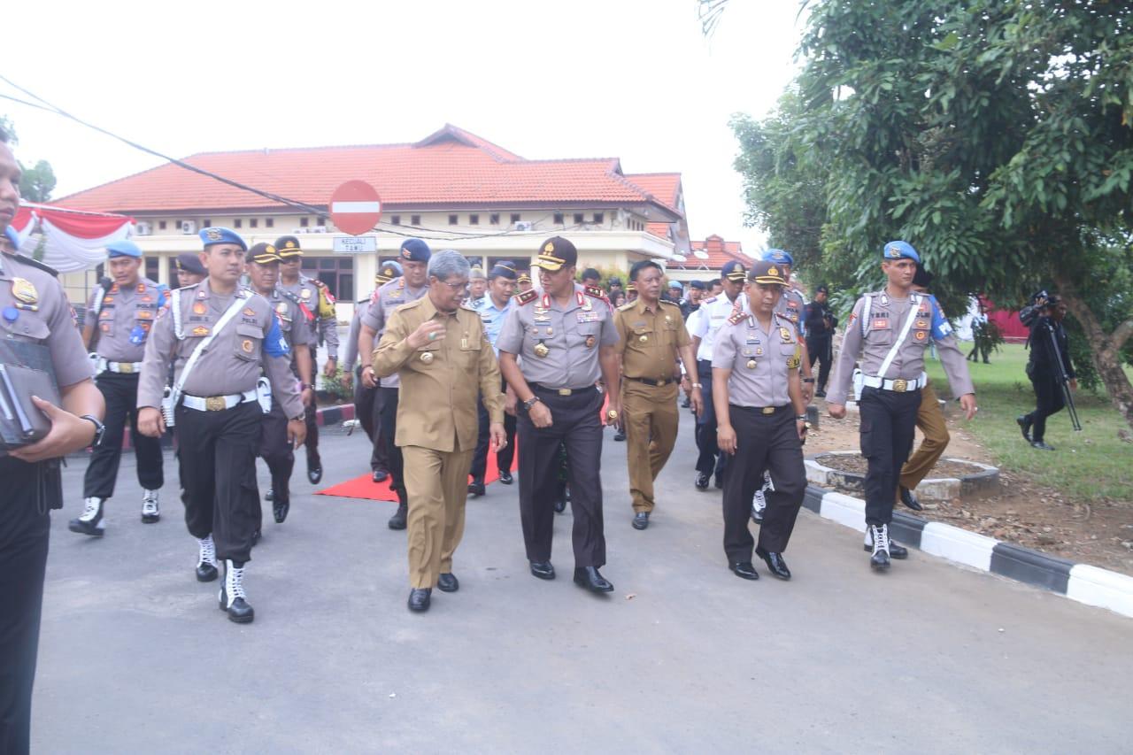 Loekman: Kunjungan Kapolda Saya Simbolkan Lampung Tengah Semakin Aman