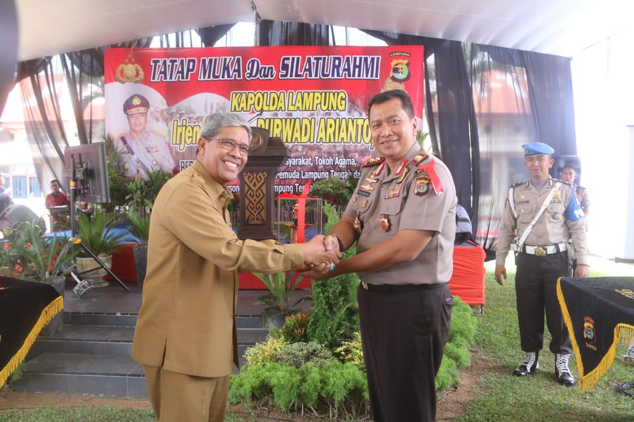 Loekman Minta ke Kapolda Lampung Agar Kapolres Jangan Diganti