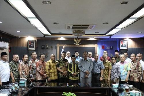 Belajar Sistem E-planning E-budgeting, Pemkab dan DPRD Lamteng Kunker ke Pemkot Medan