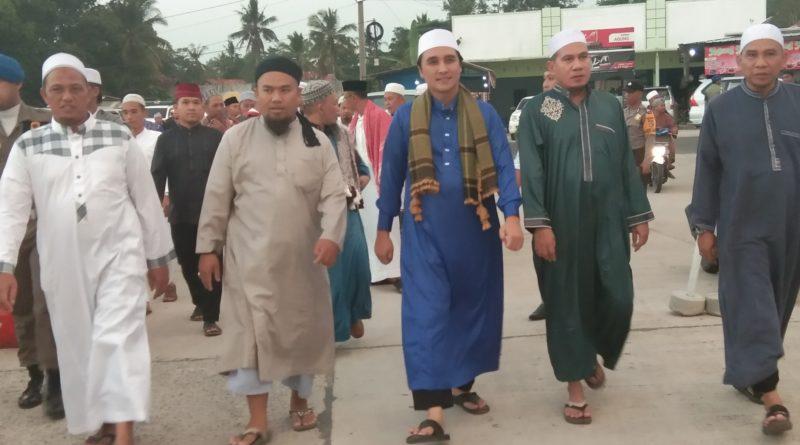 Wabup Hendriwansyah Hadiri Ijtima Ulama se-Tubaba di Masjid Islamic Center