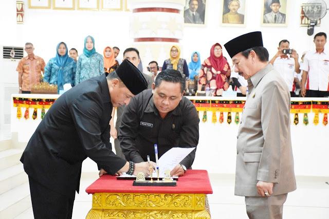 APBD Perubahan Kota Bandar Lampung Disahkan