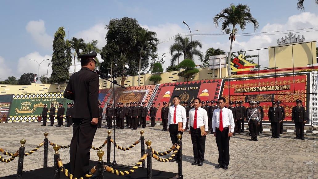 Polres Tanggamus Mengelar Upacara Hari Kesaktian Pancasila