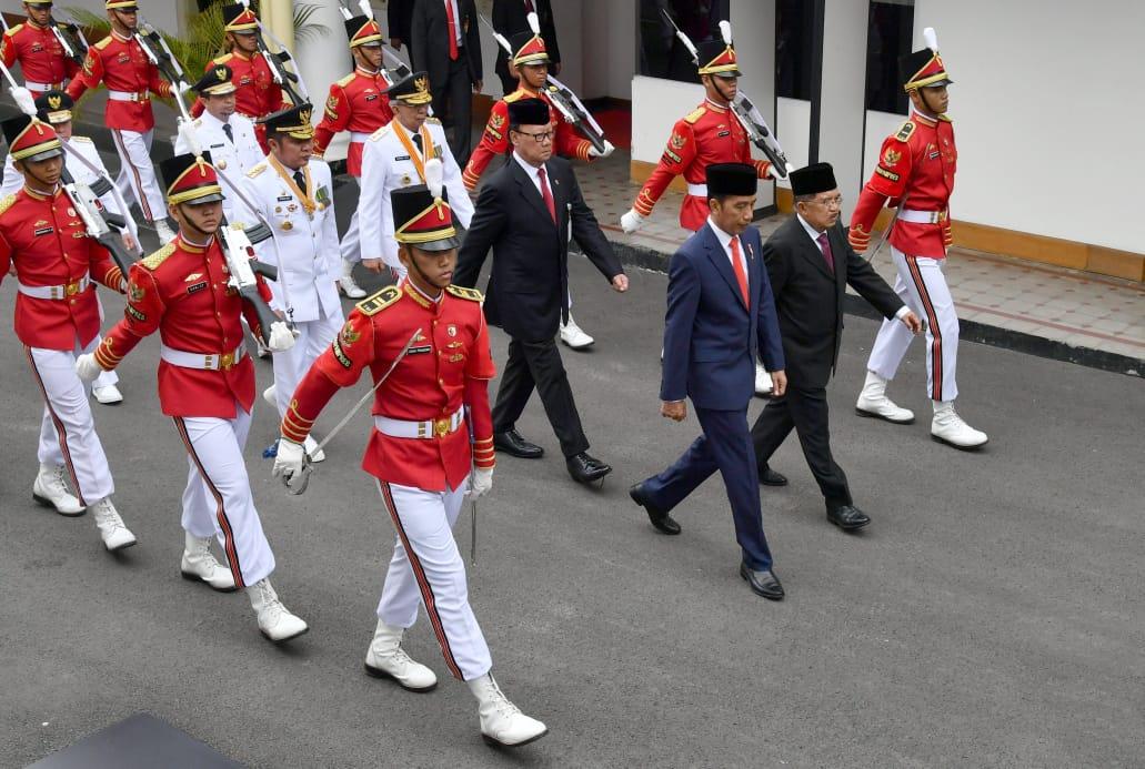 Presiden Jokowi Lantik Gubernur dan Wakil Gubernur Sumsel dan Kaltim