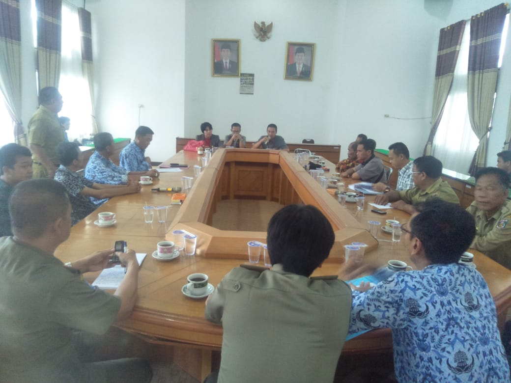 Komisi I DPRD Lampung Tengah Hearing Dengan PT. Pramana Austindo Mahardika