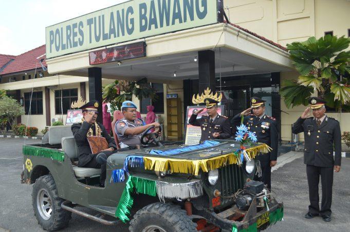 Polres Tulang Bawang Peringati Hari Kesaktian Pancasila 2018