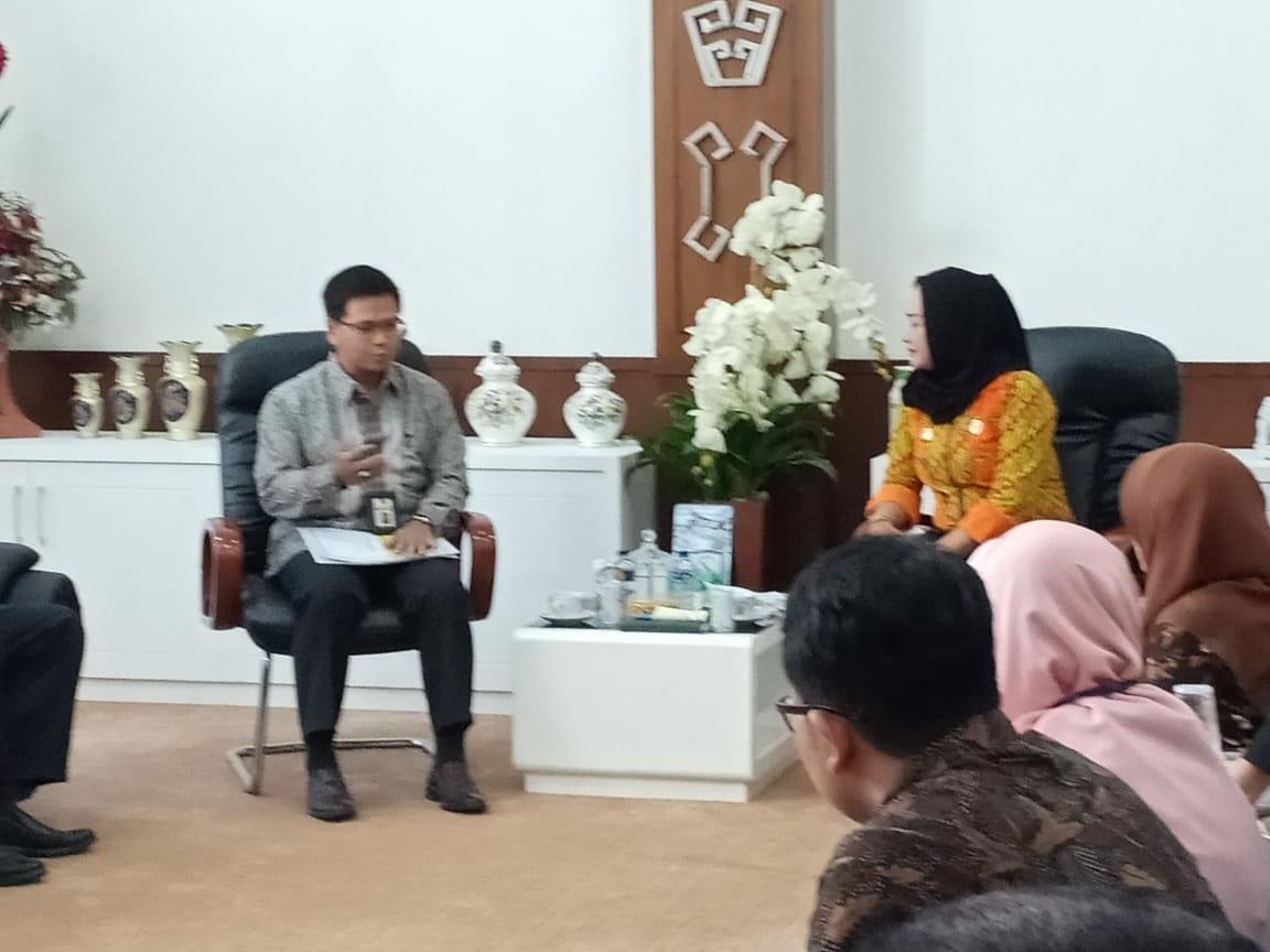Genjot Pendapatan Daerah, Bupati Winarti Jalin Kerjasama Mutualisme Dengan KPP Pratama Kotabumi