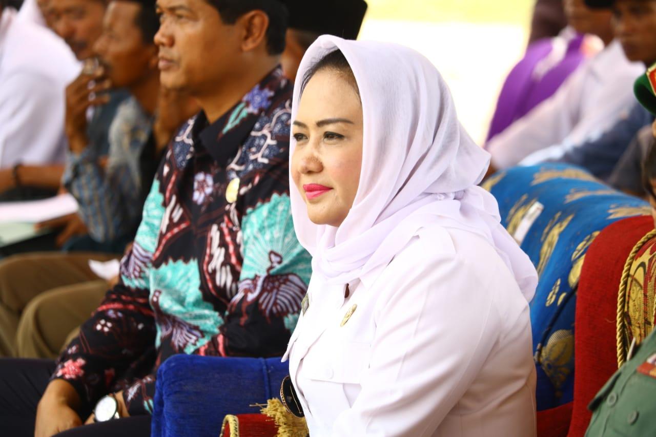 Bupati Winarti Silaturahmi Dengan Jajaran Aparatur Kampung Kecamatan Rawapitu