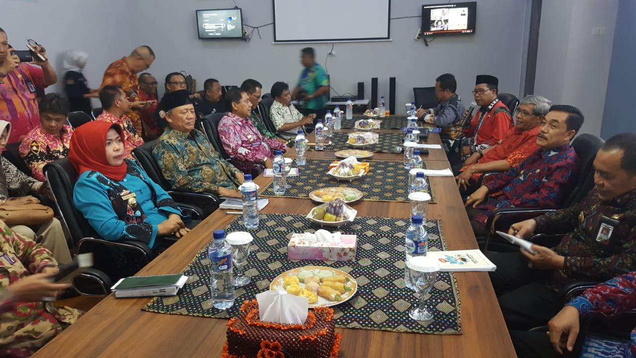 Kadis Kominfotik Lampung Pimpin Rapat Koordinasi Kadis Kominfo Kabupaten/ Kota se-Provinsi Lampung