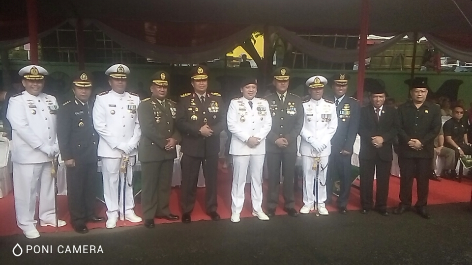 Gubernur Lampung M Ridho : Sinergitas TNI - Polri Turut Serta Sukseskan Pembangunan Lampung