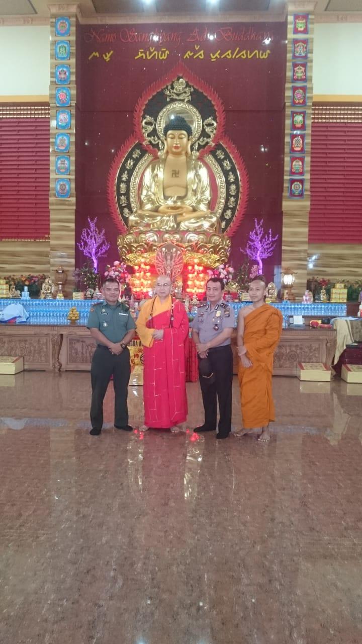 Danramil 410-01/Pjg Ajak Do'a Peduli Gempa Palu Dan Donggala Bersama Yayasan Budhayana