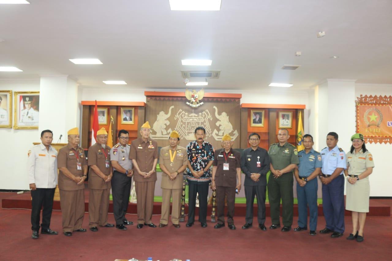 LVRI Provinsi Lampung Apresiasi Perhatian Gubernur Lampung Muhammad Ridho Ficardo