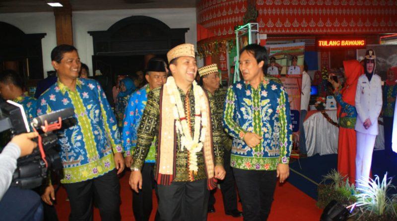 Wabup Hendriwansyah Bersama Ketua DPRD Sopi'i Hadiri Pembukaan Lampung Fair 2018