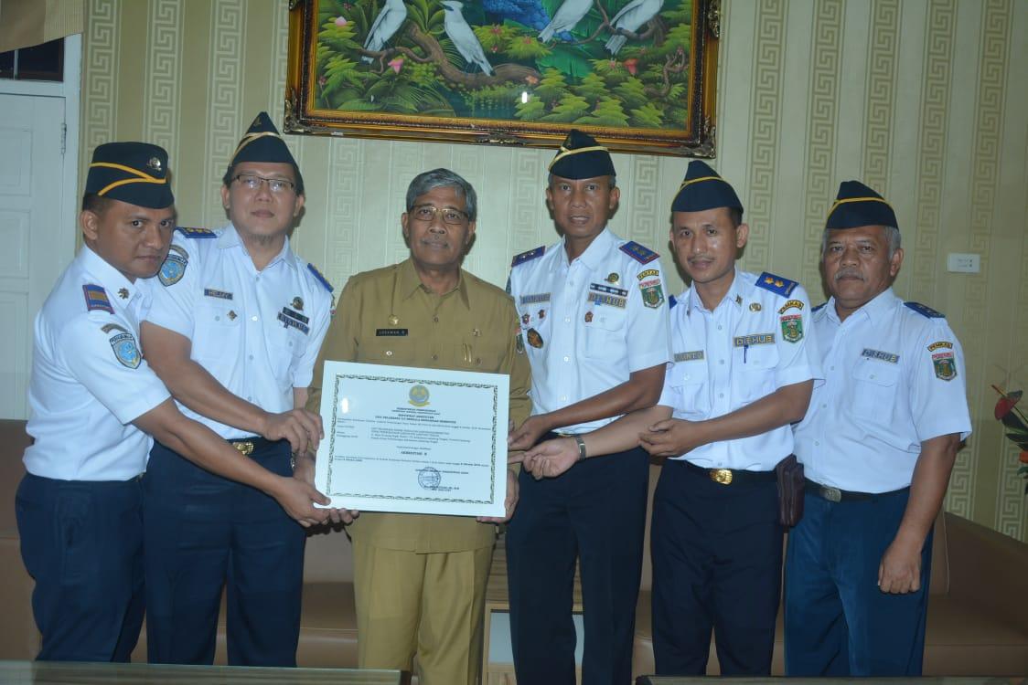 Kabupaten Lampung Tengah Mendapat Akreditasi B Uji Berkala Kendaraan Bermotor dari Kementerian Perhubungan