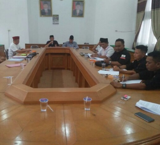 Sukseskan Pemilu 2019, DPRD, Bawaslu dan KPU Lampung Tengah Gelar Rapat Koordinasi
