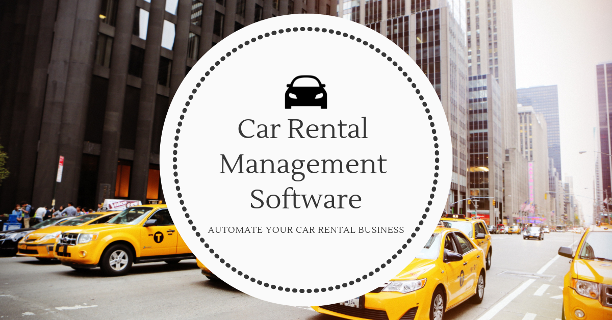 Rent A Car Software UAE
