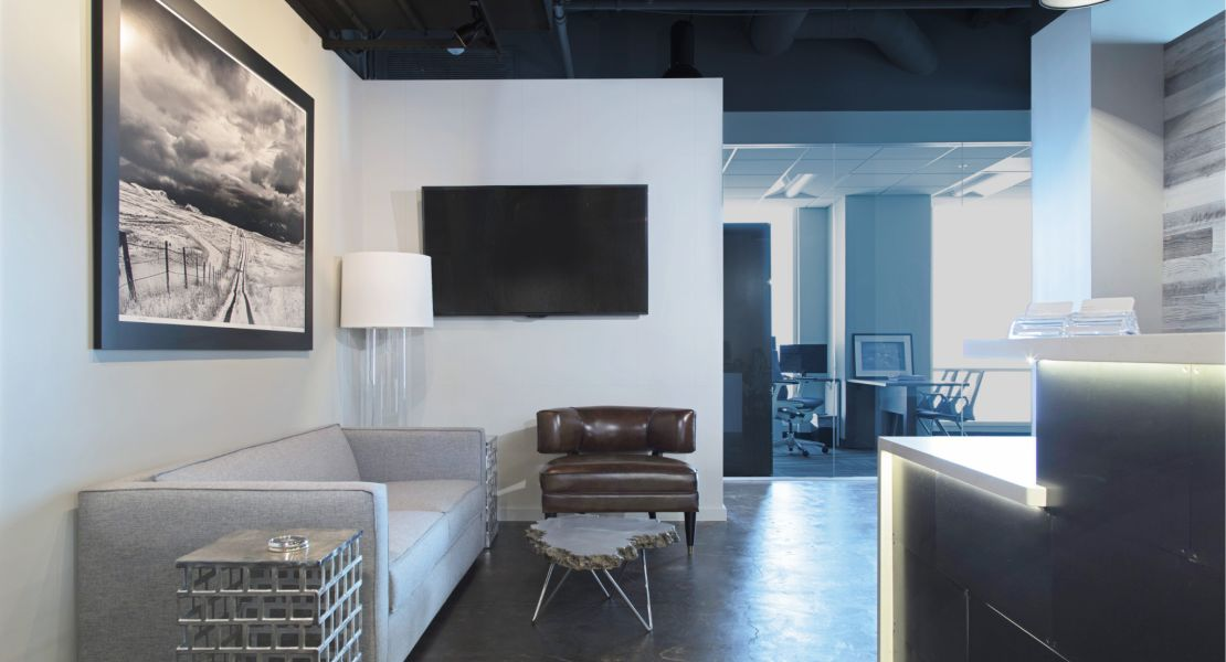 Front Desk & Reception Area