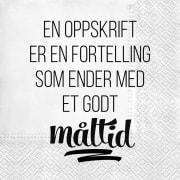 Serviett Kellfrid Oppskrift