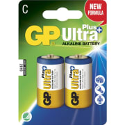 Batteri GP Ultra Plus Alkaline C 2pk