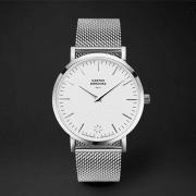Klokke STåL40-sølv