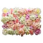 Rosa mix vegg Blomhild