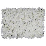 Hvite blad vegg Blomhild