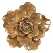Blomst Vår vegg/bord Gull
