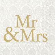 Serviett Kellfrid Mr & Ms