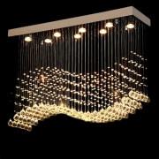 Lampe Krystallbølge