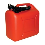 Bensinkanne 10L rød plast