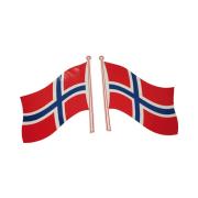 Flagg Klebe Norsk
