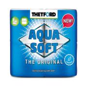 Papir Toalett Aqua Soft