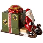 Slede med nisse, grønn - Christmas Light Villeroy & Boch