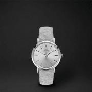 Klokke SAGA28 Ull frost grey